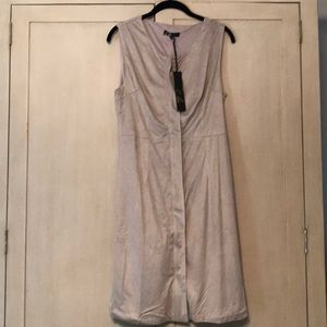 NWT C. Luce Suede Zippered Dress